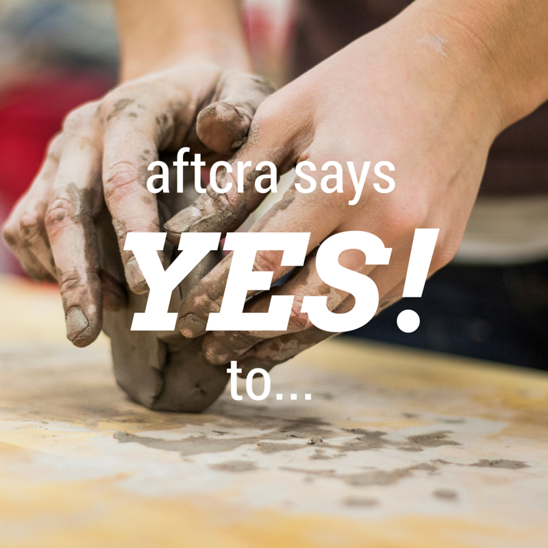 aftcra says Yes!