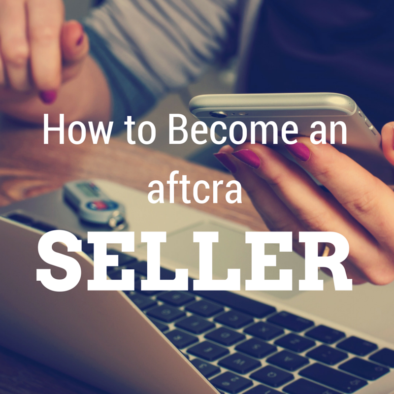 How to become an aftcra seller