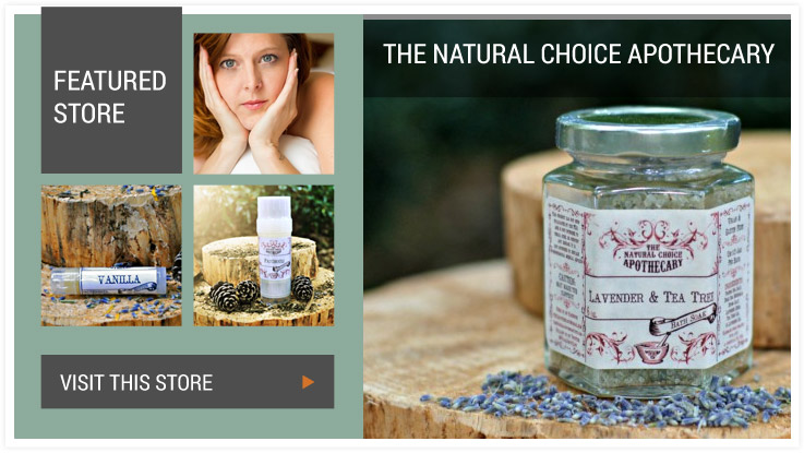 Featured Store - The Natural Choice Apothecary