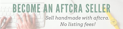 Become an aftcra Seller!