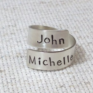 Sterling Silver Couples or Mother Ring