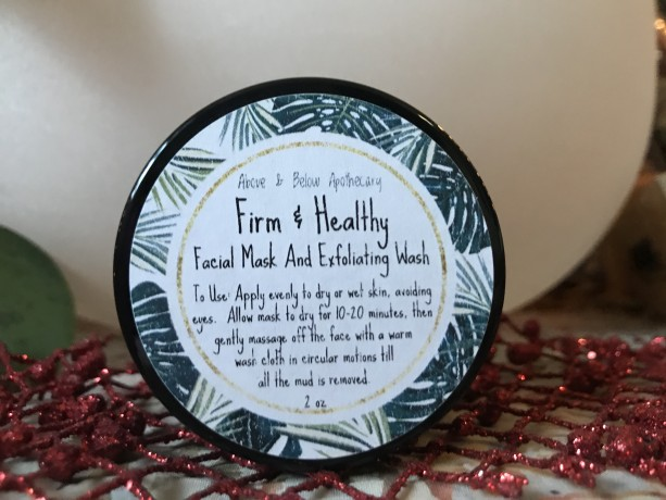 Firm And Healthy Facial Mask and Exfoliating Wash