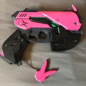 Overwatch DVA Gun and Replica Headset Pkg