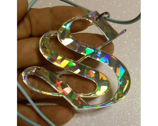INITAL LETTERS,laser cut letter,old english letters,holographic