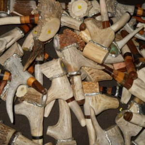 Antler pipes