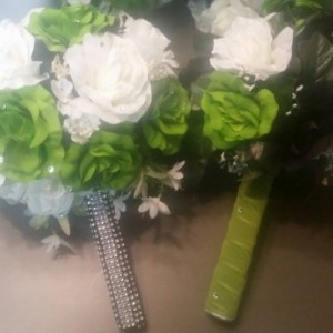 """Pick Up and Go """" Silk Custom Wedding Bouquets"""""""