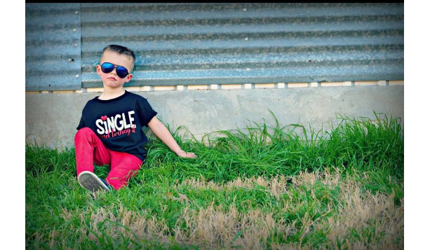 Single and Loving It Valentine Shirt for Boys - Heartbreaker Shirt - Heart Breaker Shirt - Boy Valentine Monogram - Man of Your Dreams Shirt