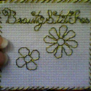 BeautyStitches Coaster Designs: Flowers