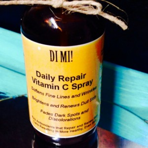 Vitamin C + Geranium Oil Daily Repair Serum Spray