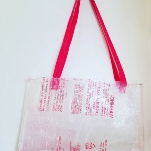 Clear Warning Tote