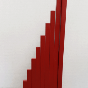 Montessori Red Rods - Montessori Sensorial Materials - Long Rods - Without Stand