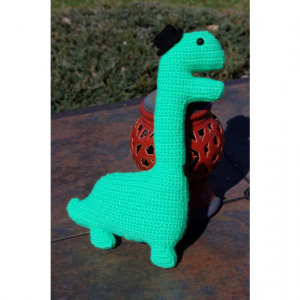Bernard the Brontosaurus, A True Fancy-Schmancy-Saurus Stuffed Animal