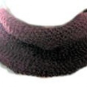 Adult Hand Knit Cowl in Burgundy