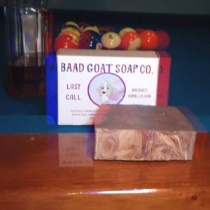 Last Call - Whiskey Goats Milk Soap By BAAD Goat Soap Co.