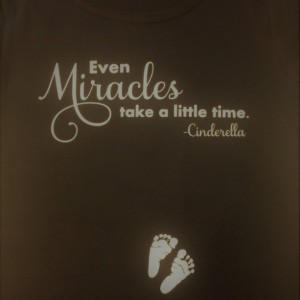 Miracles Maternity Shirt
