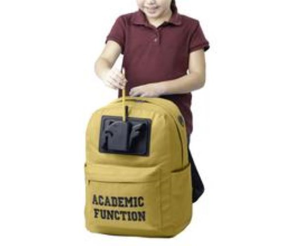 Academic Function backpacks with Integrated Powered Pencil Sharpener & cellphone charger