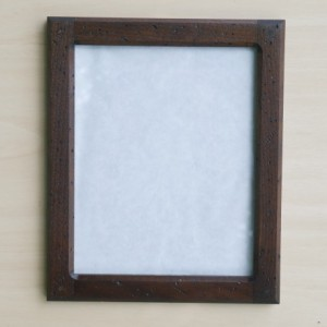Forever 8 x 10 Distressed  Black Walnut picture frame