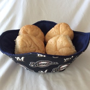 Milwaukee Brewers Cool Hands Micro 'hot pad' Bowls