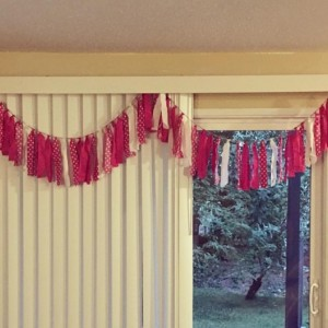 Custom Fabric Garland