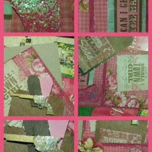 cowgirl card and gift bag