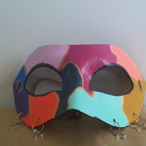 """""""Jester's Charm"""" Cosplay/Masquerade Mask"""