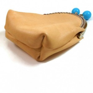 Leather Kiss Lock Coin and Card Purse, Leather Card Wallet, Kiss Lock Purse, Leather Bags and Purses