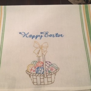 Happy Easter Kitchen Hand Towel