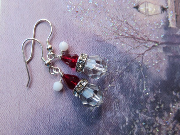 Santa Hat Earrings