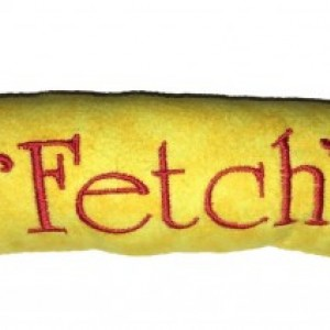 """Dog Tosser """"Fetch Dog Toy"""" 11 Inches Long With Squeaker All Handmade In USA"""