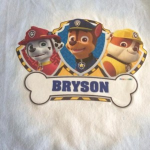 PAW PATROL PERSONALIZED PILLOWS