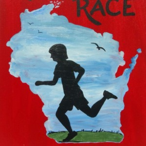 """Run Your Own Race 3"" original painting"