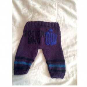 Dr. Who Knit Pants