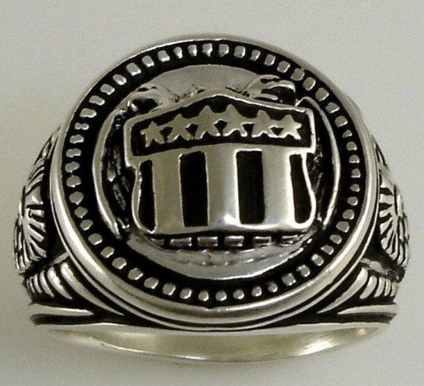 American Double eagle,Sterling silver .925 ring