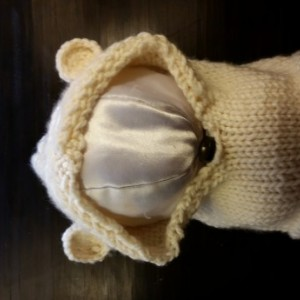 Bear Cowl Hat
