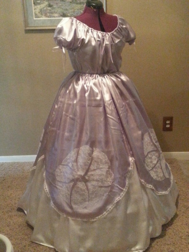 Civil War Reenactment Ladies Ball Gown Sizes Styles And