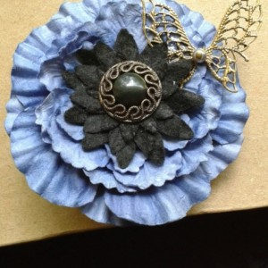 Midnight Butterfly Fascinator *30% off* (Was $35)