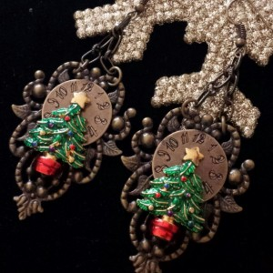 It's Christmas Time Dangle Earrings