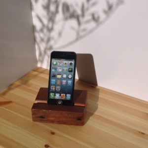 IPhone or IPod Touch Stand Rustic Reclaimed Long Leaf Pine