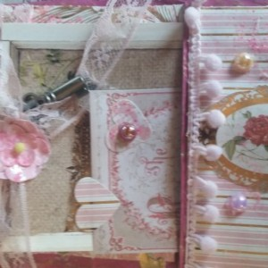 Jane Austen inspired card and gift bag