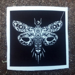 Witchy Moth Patch