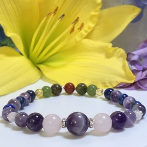 Pregnancy 2nd + 3rd Trimester Holistic Bracelet  |  Mood Swings  |  Health Support |  Increase Happiness  |  Morning Sickness