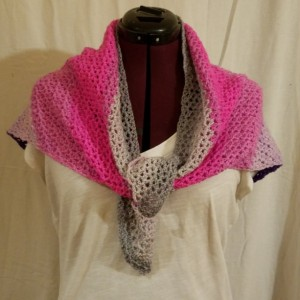 Triangle Scarf that is light and airy