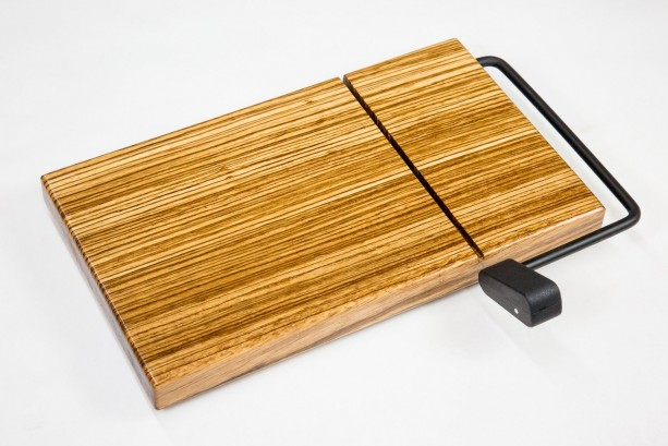 Zebrawood Cheese Slicer