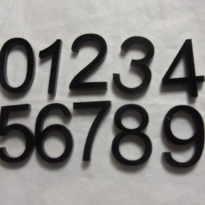 acrylic numbers, number charms, numbers, laser cut numbers, block letters,