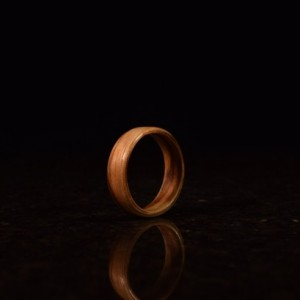 Hand Made ( Bentwood Method ) Zebrawood wooden ring