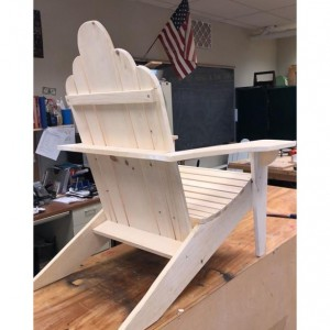 Lessons to make An Adirondack Chair