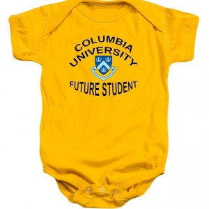 Columbia University Future Graduate Baby Onesie