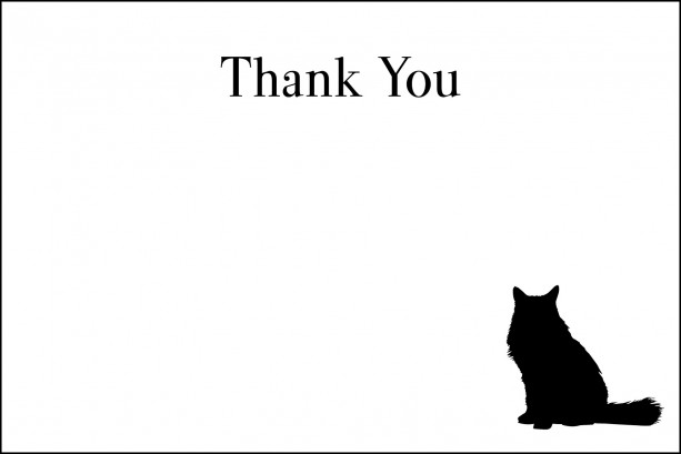 Cat Sitter Note Card Stationery Set