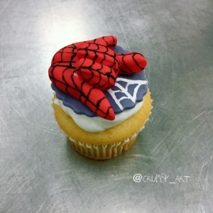 Spider-Man Cupcake toppers