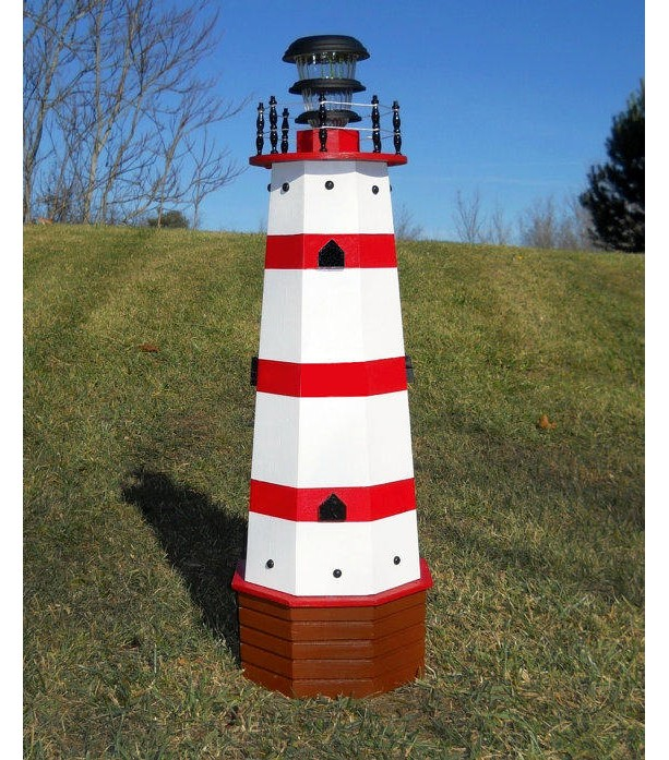 Add 3 stripes to any lighthouse with matching accents colors
